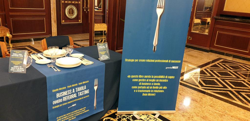Referral Tasting - Claudio Messina - Business a tavola