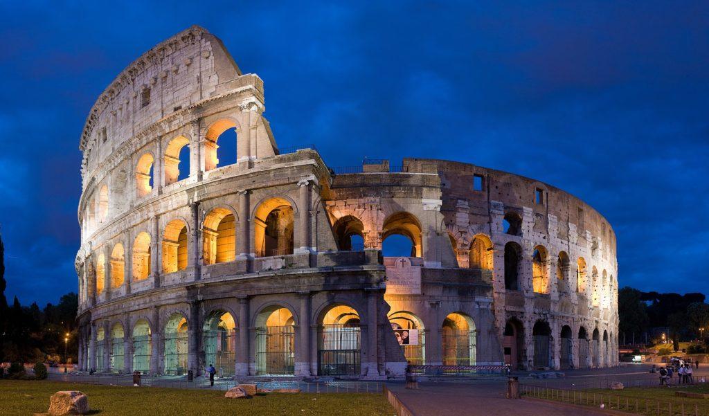 Roma - Il Colosseo - Grazie Italia - Claudio Messina - Business a tavola