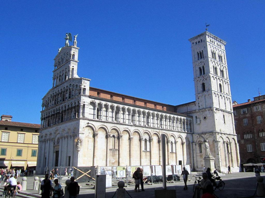 Lucca - San Michele in Foro - Grazie Italia - Claudio Messina - Business a tavola