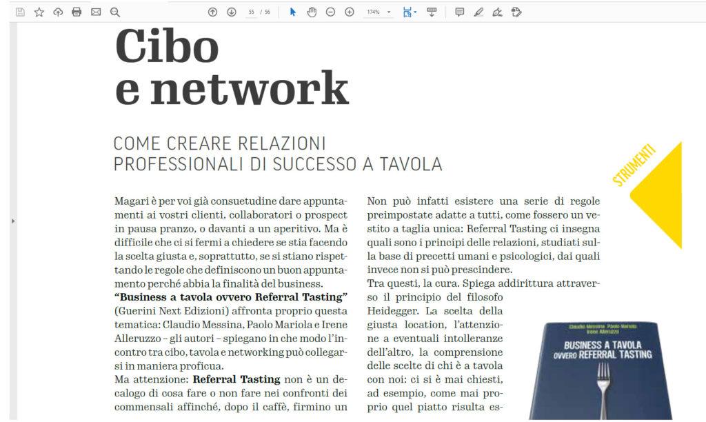 Referral Tasting - Claudio Messina - Inkalce settembre 2019