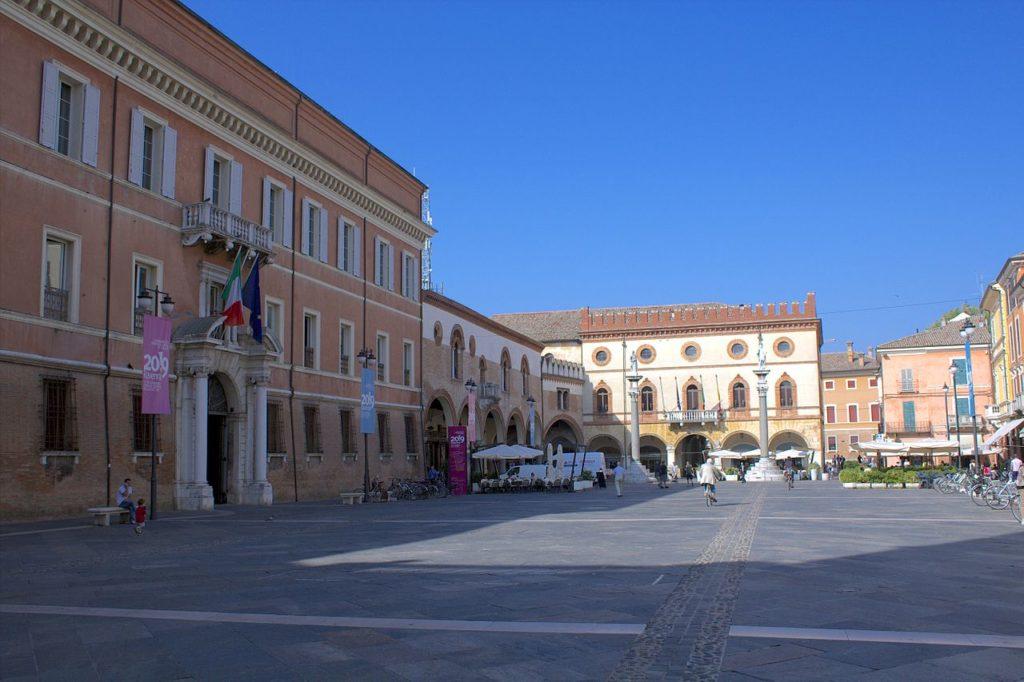Ravenna – Palazzo del Popolo – Grazie Italia – Business a tavola – Claudio Messina