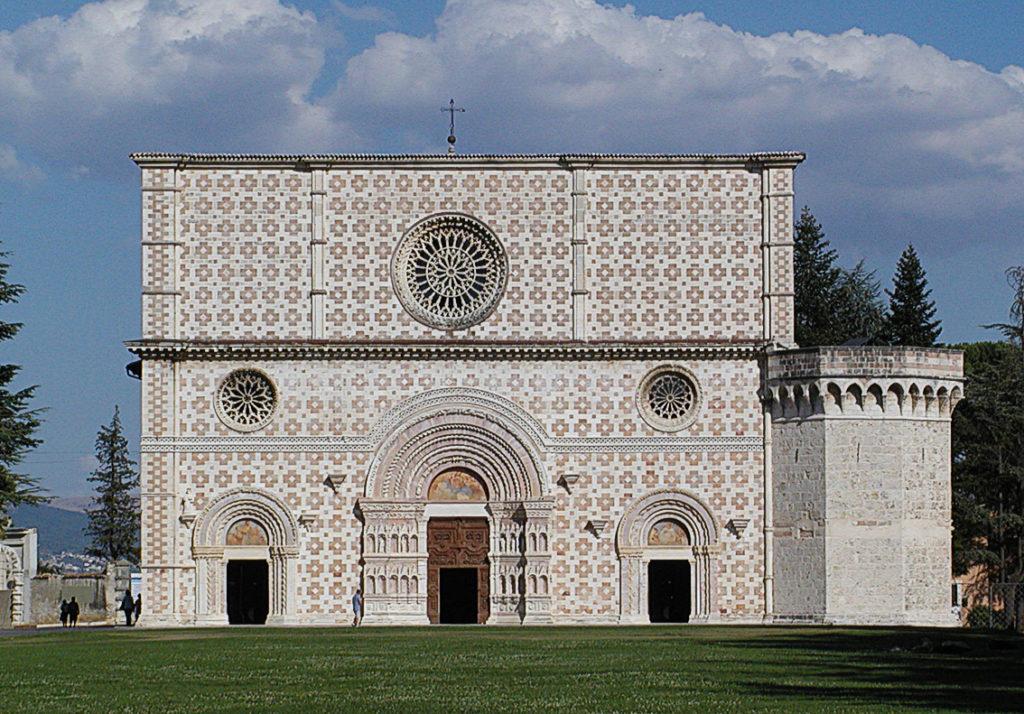 L'Aquila – Basilica di Santa Maria di Collemaggio – Grazie Italia – Business a tavola – Claudio Messina