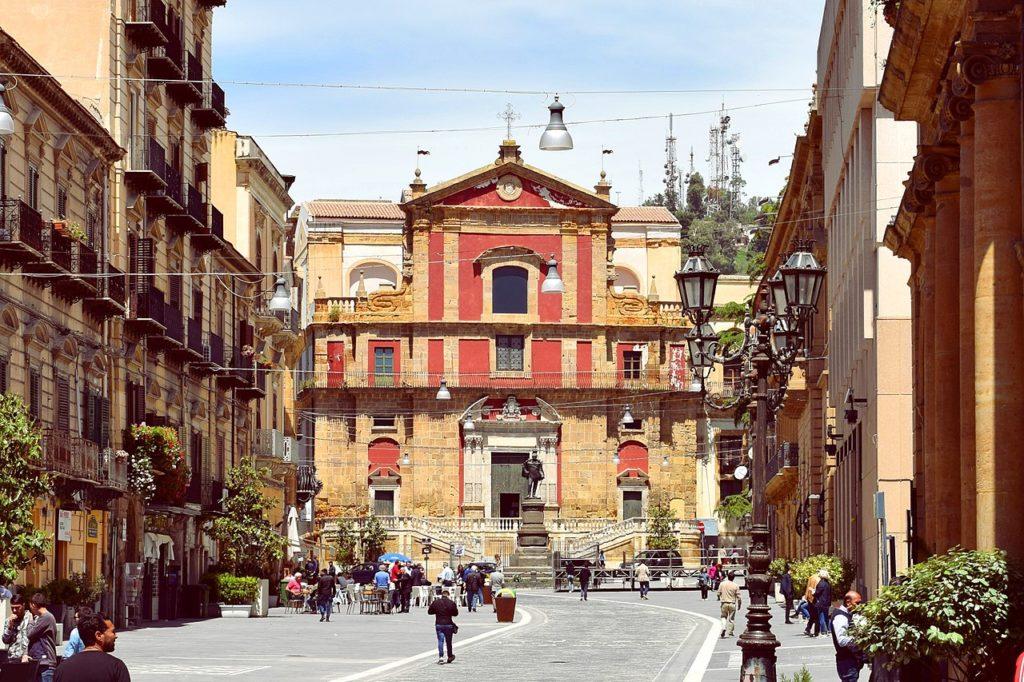 Caltanissetta – Chiesa di Sant'Agata al Collegio – Grazie Italia – Business a tavola – Claudio Messina