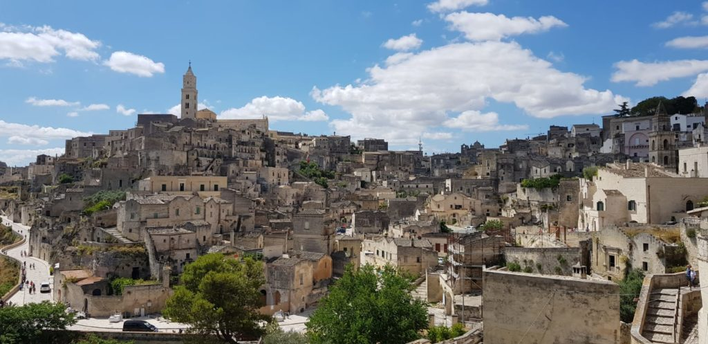 Matera – Veduta – Grazie Italia – Business a tavola – Claudio Messina