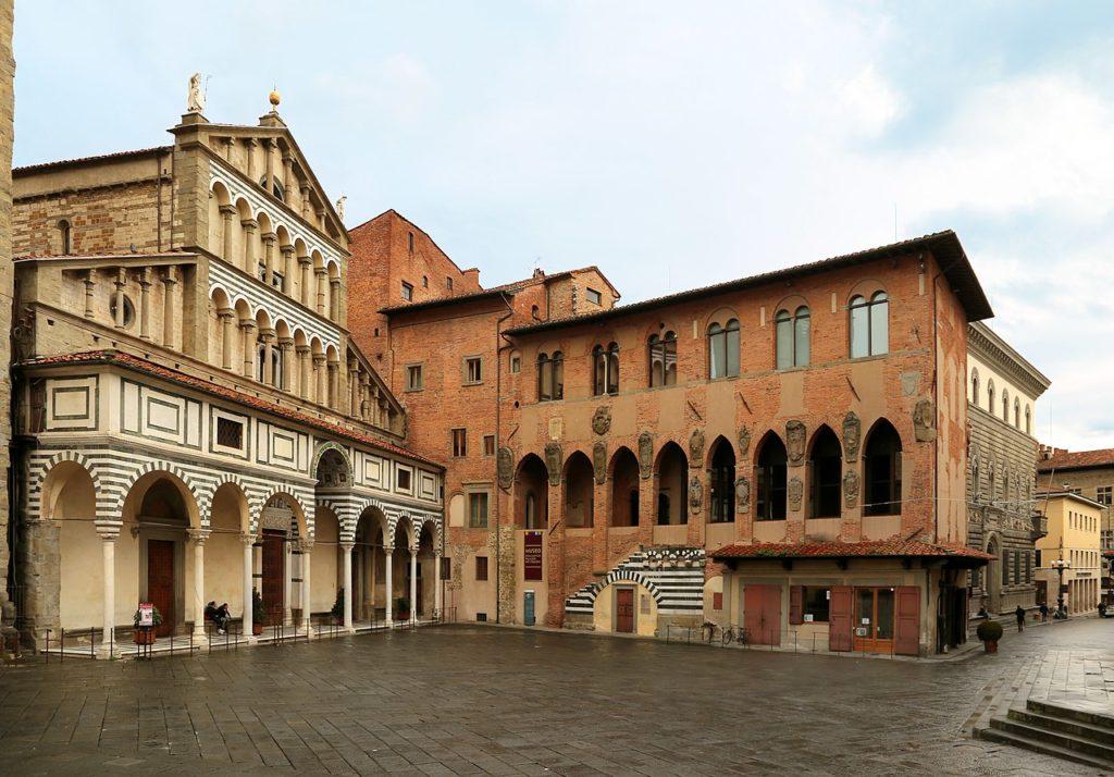 Pistoia – Piazza del Duomo – Grazie Italia – Business a tavola – Claudio Messina