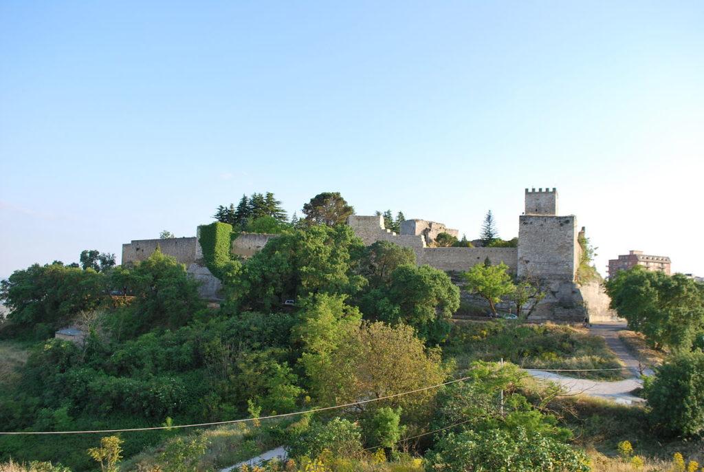 Enna – Castello di Lombardia – Grazie Italia – Business a tavola – Claudio Messina
