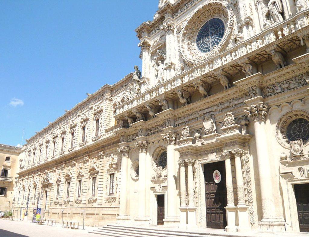 Lecce – Basilica di Santa Croce e Celestini – Grazie Italia – Business a tavola – Claudio Messina