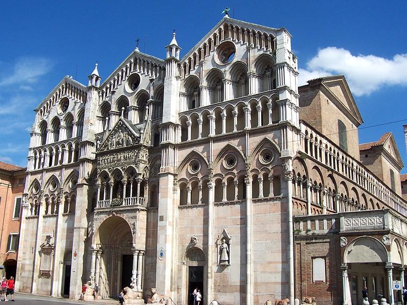 Ferrara – Cattedrale di San Giorgio – Grazie Italia – Business a tavola – Claudio Messina