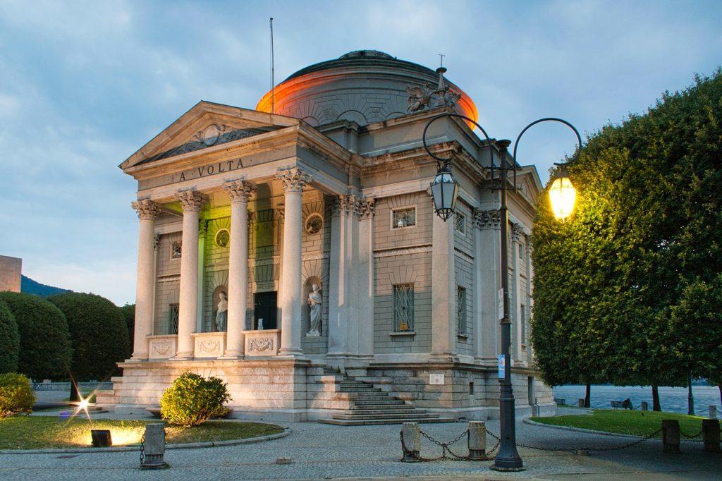 Como – Tempio Voltiano – Grazie Italia – Business a tavola – Claudio Messina