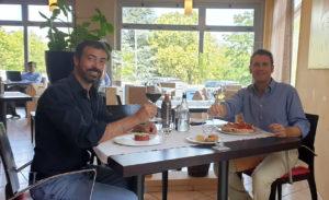 Grazie Italia – Business a tavola – Claudio Messina – Matteo Galiano